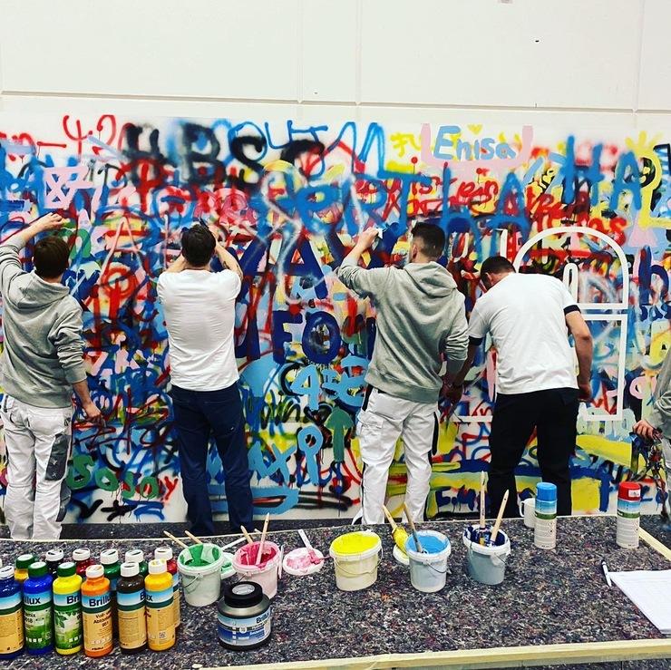 werde Maler-Team auf der bautec Berlin - Februar 2020