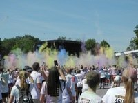 werde Maler bei THE COLOR RUN in Dortmund