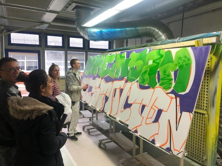 Beratung auf Augenhöhe – Große Resonanz auf Aktionstag werde Maler von Kreishandwerkerschaft, Jobcenter und Agentur für Arbeit