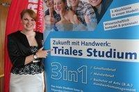 Drei auf einen Streich: Triales Studium soll Abiturienten ins Handwerk locken