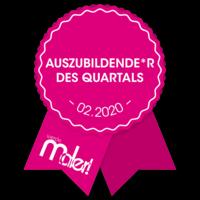 Azubi des Quartals 2/2020 - Jetzt teilnehmen!