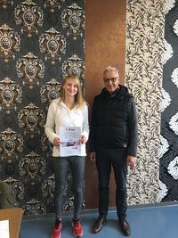 DEIN WERKSTOFFTAG: Gewinnspielsiegerin aus Paderborn
